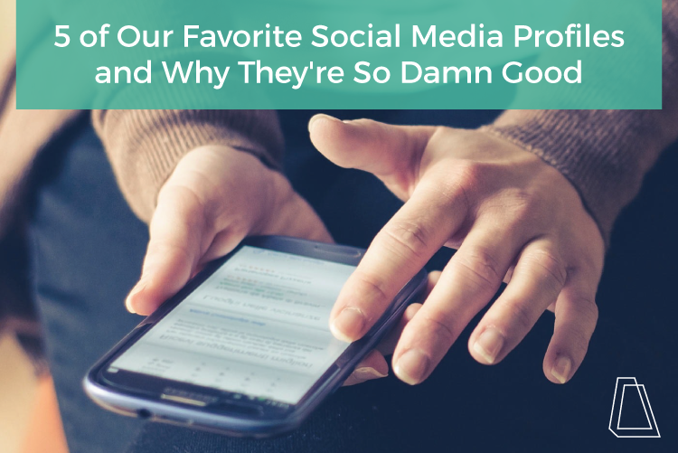 5 OF OUR FAVORITE SOCIAL MEDIA PROFILES AND WHY THEY'RE SO DAMN GOOD