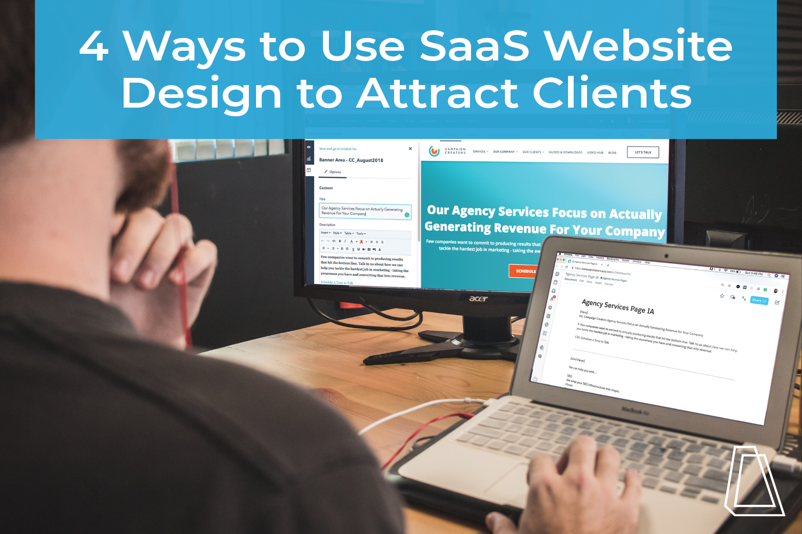 4 ways to use saas website design to attract clients