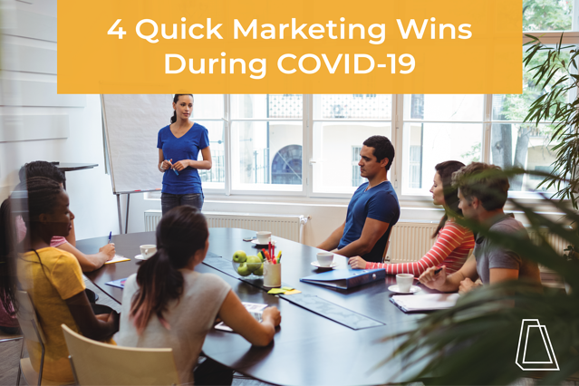 4 quick win marketing ideas