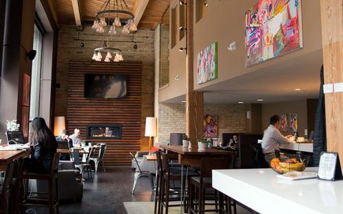 Hudson Business Lounge