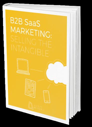 Ebook Cover: B2B SaaS Intangible
