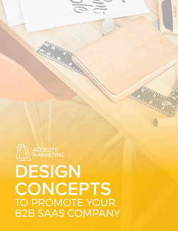 Ebook Cover: Design Concepts to Promote Your B2B SaaS Company