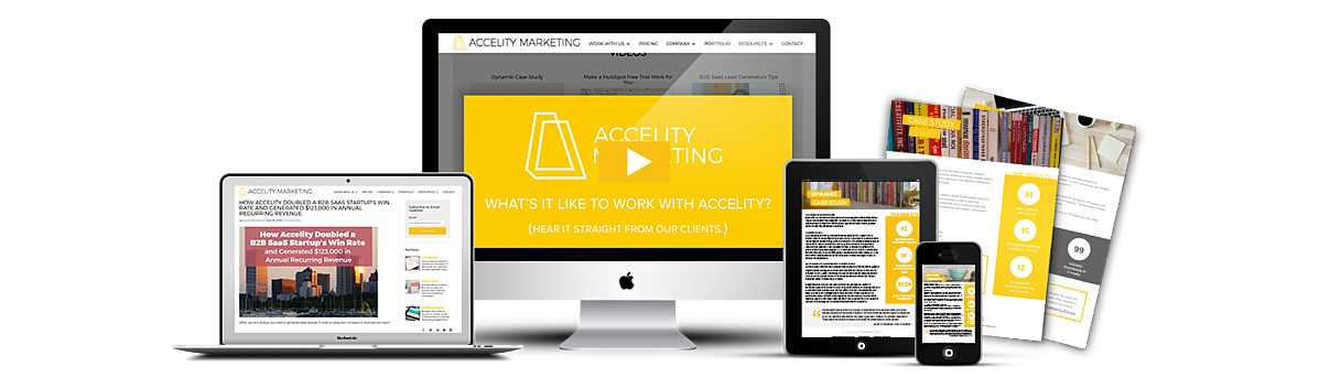 Accelity B2B Marketing Results