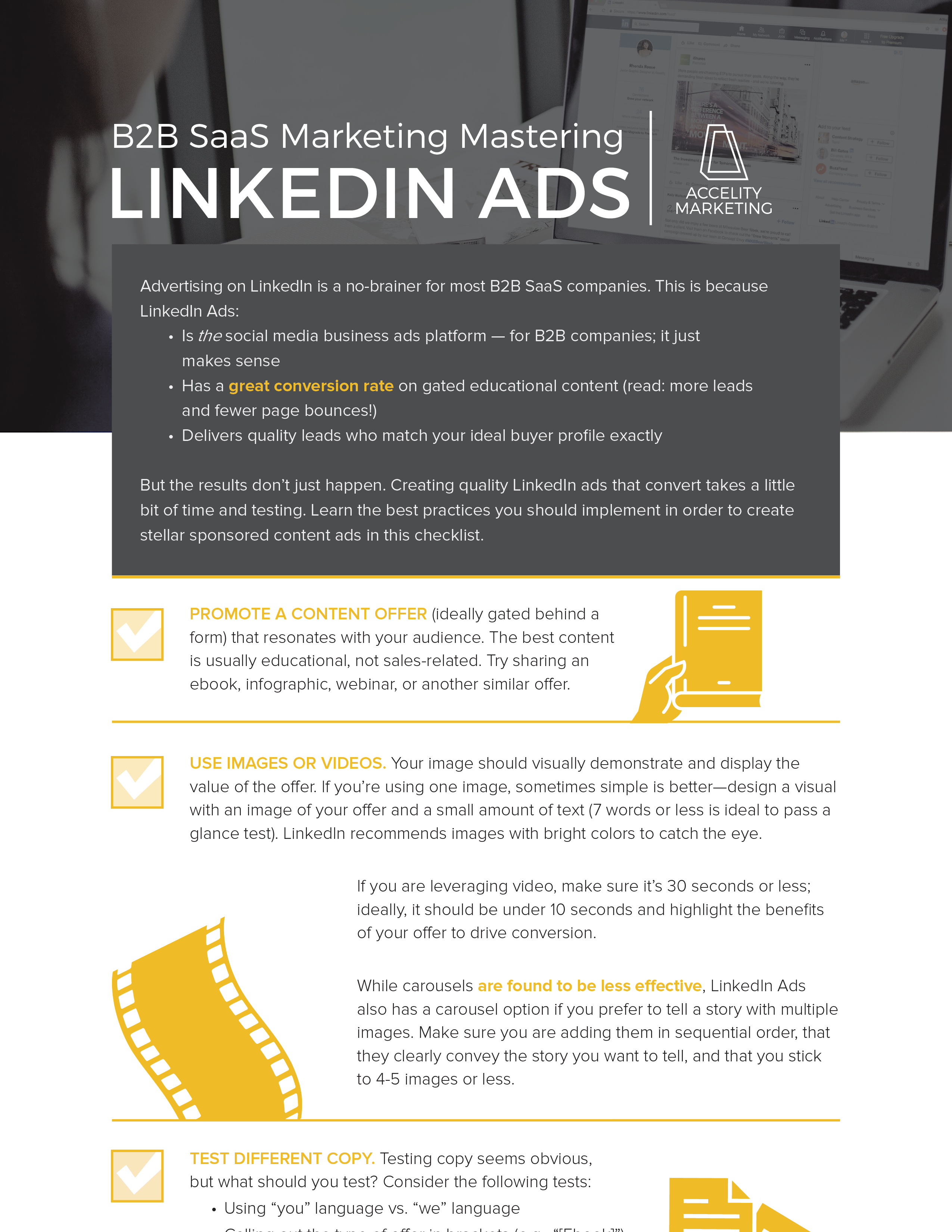 B2B SaaS Mkt: Mastering LinkedIn Ads