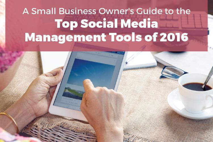 The five best social media marketing management tools