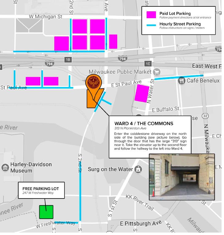 Ward4 Parking Info